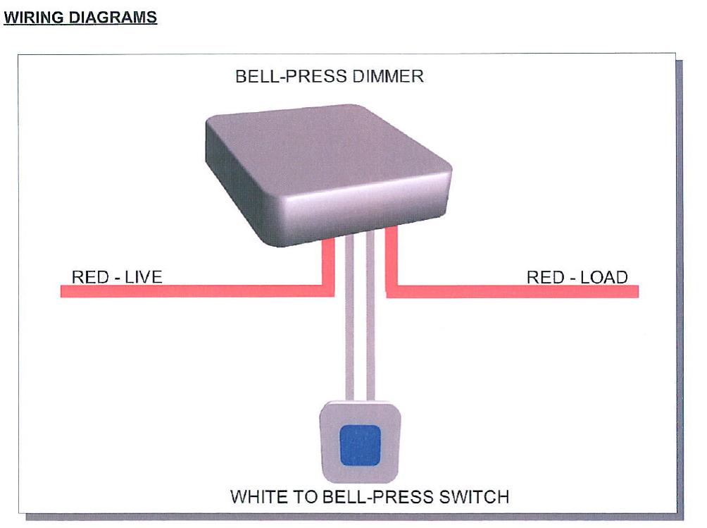 Wiring Diagram For Led Downlights : Shuttle dimmer module sdim t led w karebostore